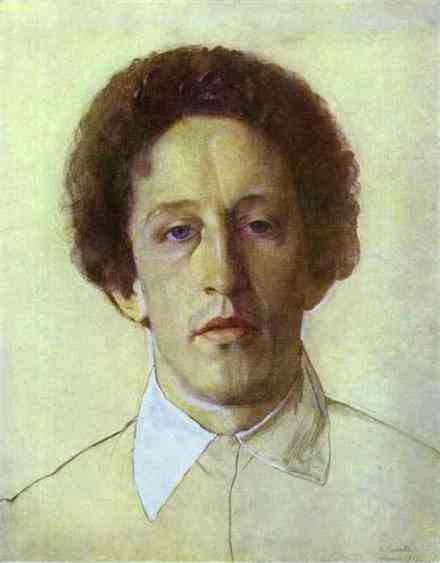 portrait-of-aleksandr-blok-1907